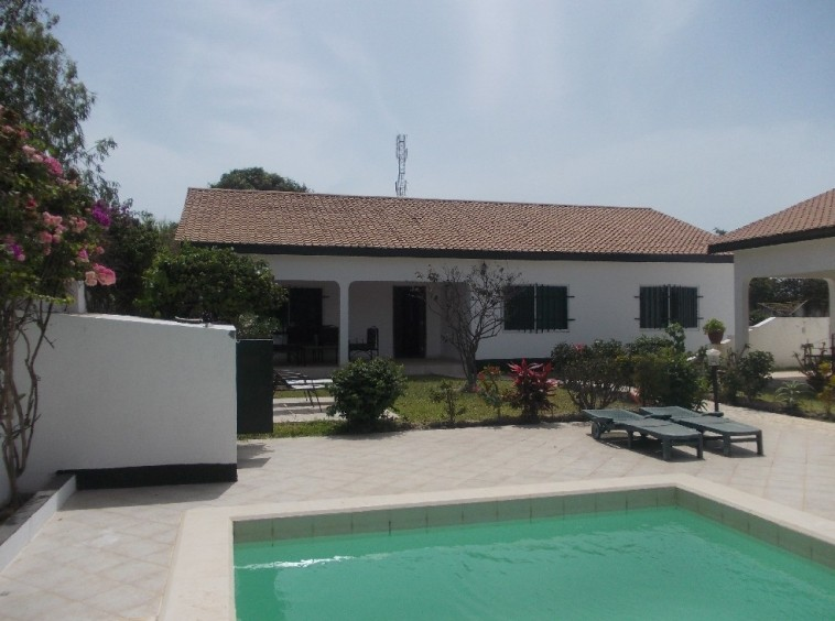 Luxury 3 bed bungalow in brufut Gambia