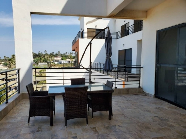 fajara waterfront apartment for let