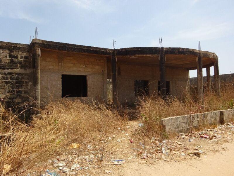 unfinished building for sale sukuta